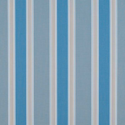 "Sunbrella 46"" Stripes Premium Baycrest Sky"
