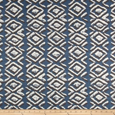 Premier Prints Luxe Outdoor Sapo Slate BlueBasketweave
