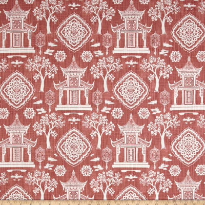 Premier Prints Spirit Slub Canvas Scarlet