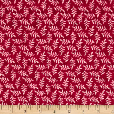 Maywood Studio The Little Things Variegated Leaves Red Natural