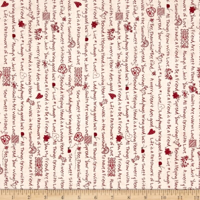 Maywood Studio The Little Things Little Sentiments Natural Red