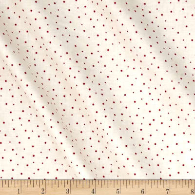 Maywood Studio The Little Things Sprinkled Dots Natural Red