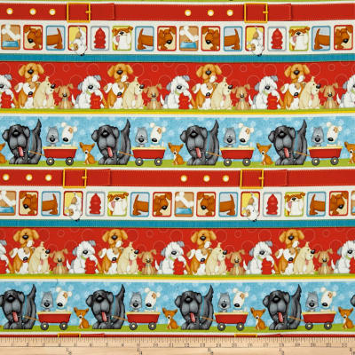 Dogs & Suds Novelty Dog Stripe Multi
