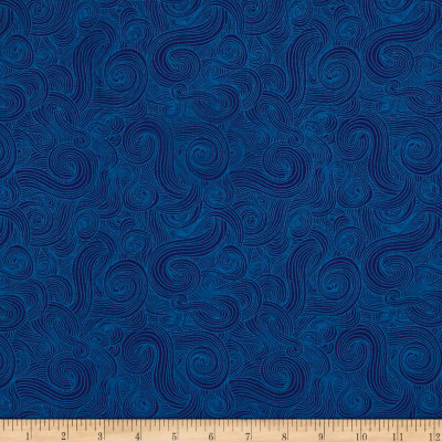 Just Color  Swirl Basic Navy