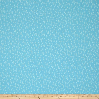 Modern Batiks Triangles Light Blue
