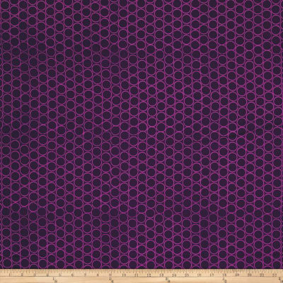 Modern Batiks Circles Purple