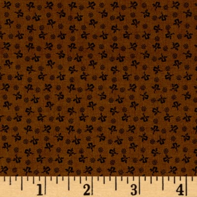 Modern Antiques Rose Buds Brown