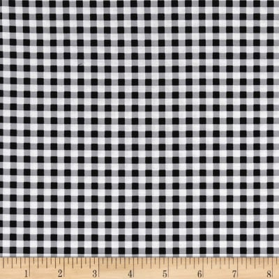 Kanvas Oops A Daisy Gingham Black