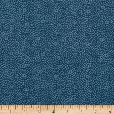 Sunshine Garden Tile Medium Blue