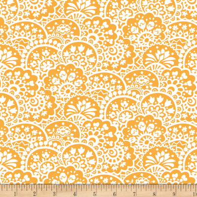 Benartex Bree Paisley Orange