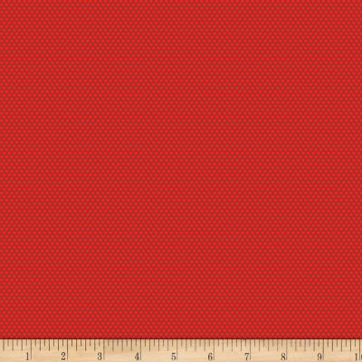 Benartex Bree Tiny Dot Red
