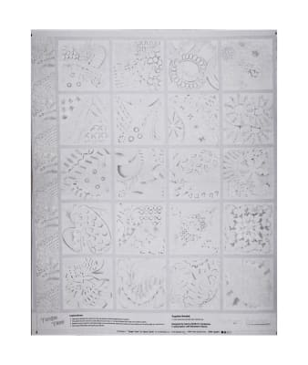 "Contempo  Tangle Time Tangle Time 44""Panel Silver Metallic"