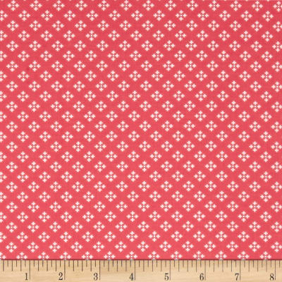 Contempo  Winter Games Dots Red
