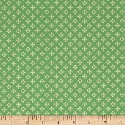 Contempo  Winter Games Dots Green