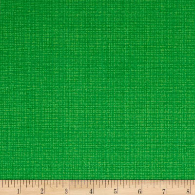 Contempo  Modern Marks Color Weave Kelly Green