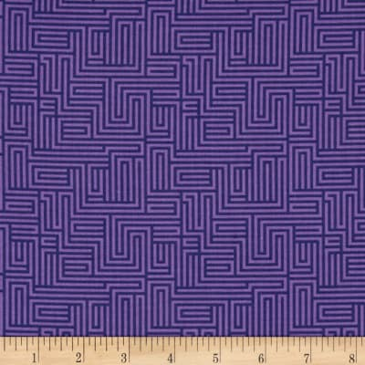 Contempo  Dot Crazy Maze Purple