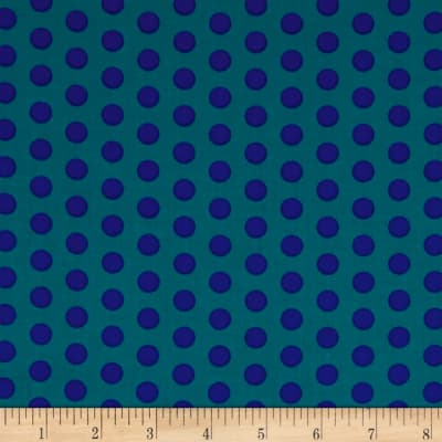 Contempo  Dot Crazy Medium Dot Teal