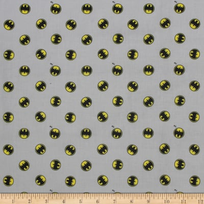 DC COMICS ll Batman Logo Light Grey