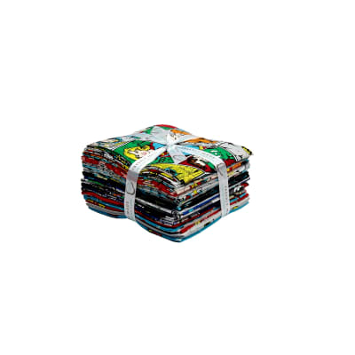 DC COMICS ll Fat Quarter Bundle Multi