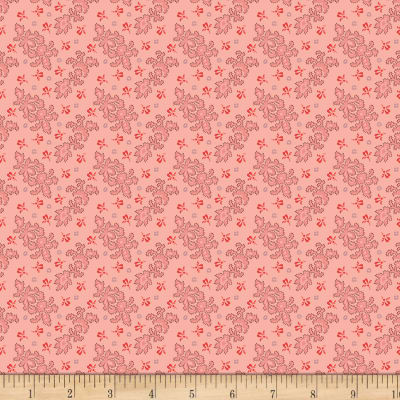 Benartex Homestead: Colonial Lace Pink