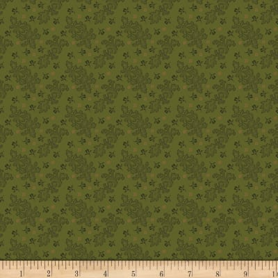 Benartex Homestead: Colonial Lace Green