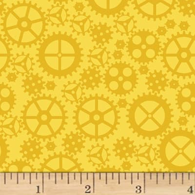 Matthew's Mini Monsters Tonal Gears Yellow