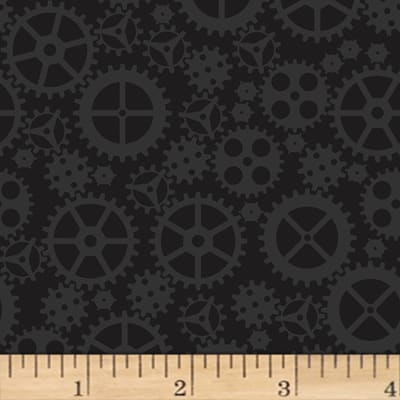 Matthew's Mini Monsters Tonal Gears Black