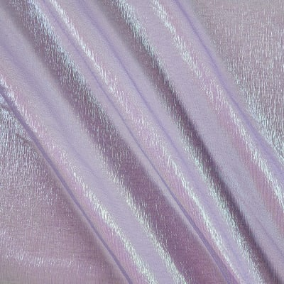 Irridescent Crush Shimmer Organza Lavender