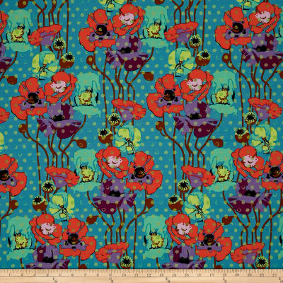 Anna Maria Horner Floral Retrospective Raindrops Poppies Candy