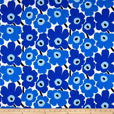 Marimekko Mini Unikko Cotton Blue
