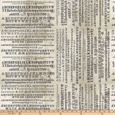Tim Holtz Dapper Typography Neutral