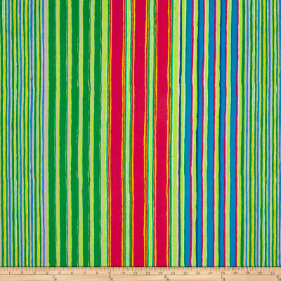 Kaffe Fassett Fall 2017 Regimental Stripe Green