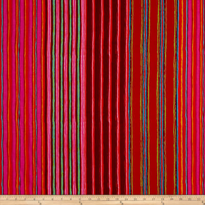 Kaffe Fassett Fall 2017 Regimental Stripe Red