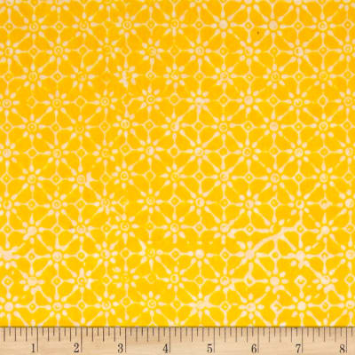 Java Garden Batiks Petit Flower Yellow