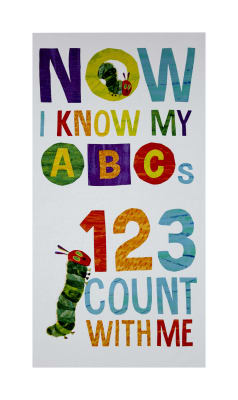 "The Very Hungry Caterpillar - ABC's ABCs 23"" Panel Multi"