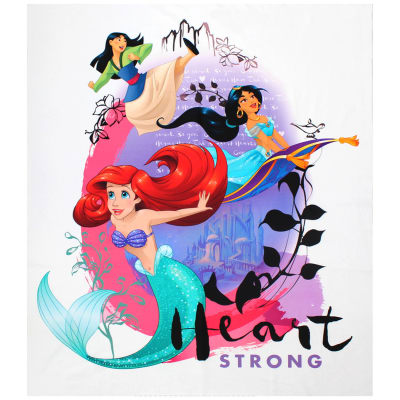 "Disney Princess Heart Strong 36""Panel Multi"