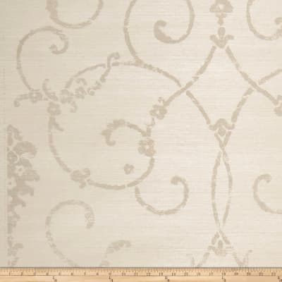 Fabricut 2646e Marrakech Sisa Wallpaper S0038 Dove