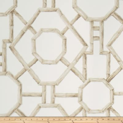 Fabricut Cristian Wallpaper Neutral On Cream (Double Roll)