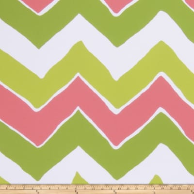Dana Gibson Kuba Kuba Wallpaper Green Pink (Double Roll)