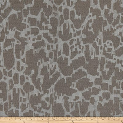 Fabricut Pixillation Pewter Sheen