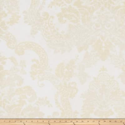 Fabricut Stanwyck Wallpaper Champagne (Double Roll)