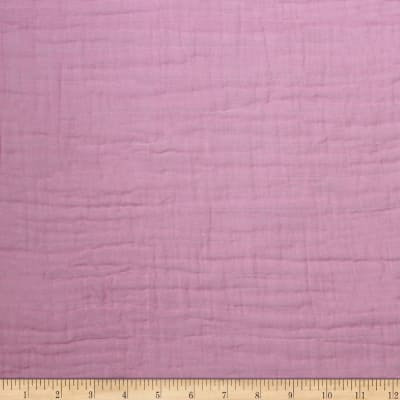 Nursery Program Bambino Double Gauze Solid Rosewater