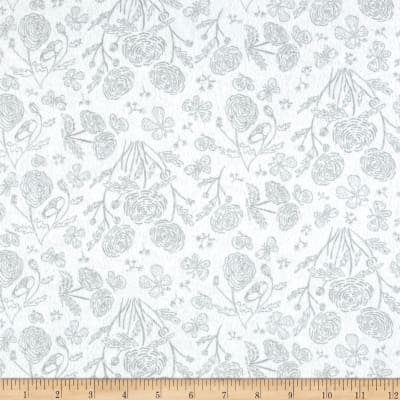 Flannel Toile Grey