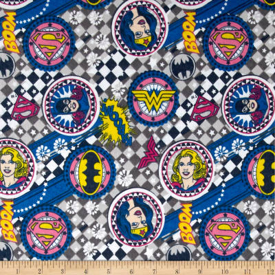 Girl Power ll Badges Flannel Grey