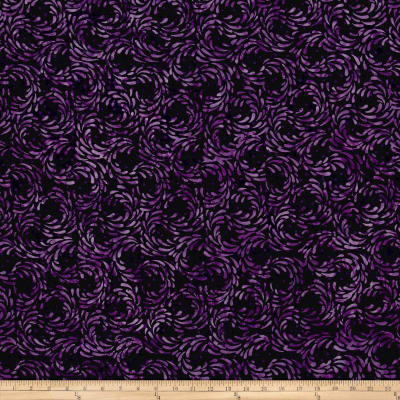 Island Batik Empress Garden Splash Purple