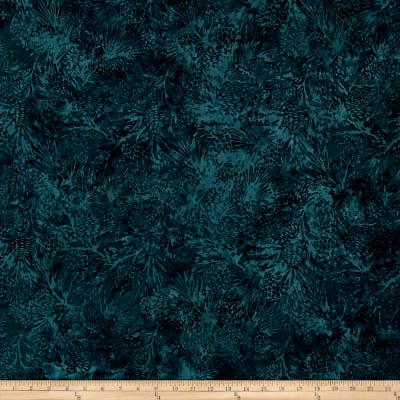 Island Batik Mountain's Majesty Pinecone Dark Lagoon