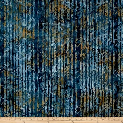 Island Batik Autumn's Grace Branches Gun Metal