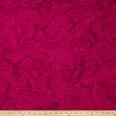 Island Batik Sunflower Seranade Dot Hot Pink