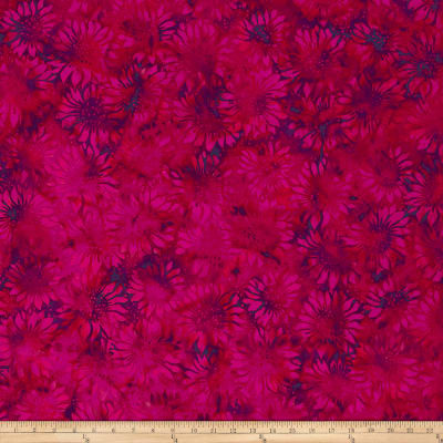 Island Batik Sunflower Seranade Sunflower Mixed Berry