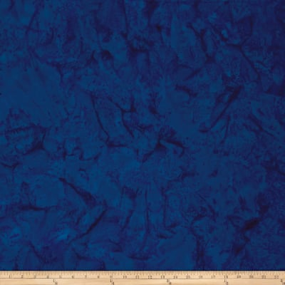 Batik Cotton Basics   Blueberry